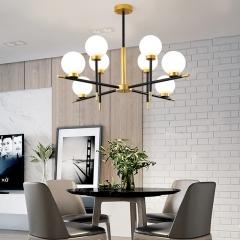 Đèn thả thủy tinh hiện đại trang trí bàn ăn cao cấp TL-ALI-01