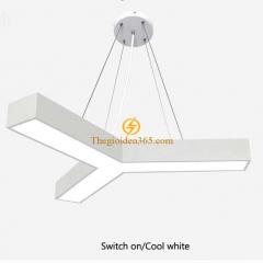 Đèn thả trần Led hình chữ Y D600 vỏ trắng TL-TR-500Y