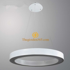 Đèn thả trần Led hình tròn rỗng D600 vỏ trắng TL-TR-500R