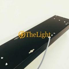 Đèn thả văn phòng LED 40w D150xL1200 vỏ đen TL-VP01