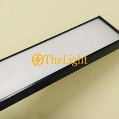 Đèn thả văn phòng LED 60w D300xL1200 vỏ đen TL-VP01