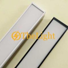 Đèn thả văn phòng LED 36w D100xL1200 vỏ trắng đen TL-VP01