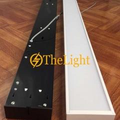 Đèn thả văn phòng LED 48w D200xL1200 vỏ đen TL-VP01