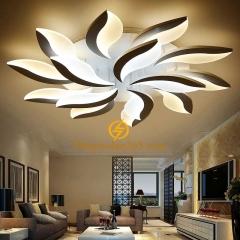 Đèn trần hiện đại 3 màu trang trí nội thất cao cấp D1000 TL-TT715