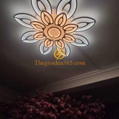 Đèn trần phòng khách hiện đại cao cấp 16 cánh D1100 TL-TT30-16