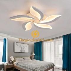 Đèn trần phòng ngủ hiện đại 5 cánh D600 TL-V7-05