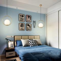 Đèn treo thả đầu giường hiện đại trang trí phòng ngủ TL-DG-02D