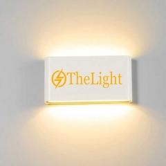 Đèn hắt tường Led 2 đầu ngoài trời IP65 DHT-BW012