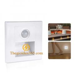Đèn cảm biến led âm tường chân cầu thang 1,5w TL-CT04