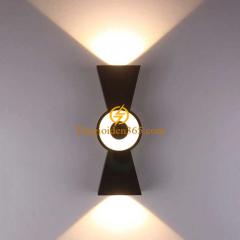 Đèn hắt tường Led 2 đầu 10w IP65 hiện đại DHT-2701
