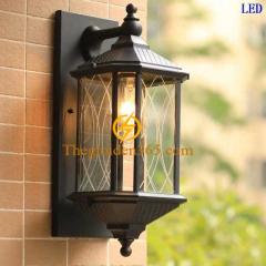 Đèn tường cổ điển hợp kim ngoài trời D450 DCĐ-006
