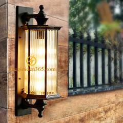 Đèn tường cổ điển hợp kim ngoài trời D540 DCĐ-003