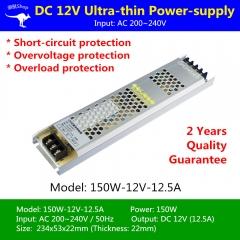 Nguồn Led dây 12v 150w 12.5A cao cấp TLD-12V-PW01