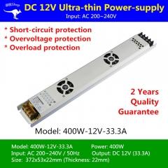 Nguồn LED dây 12v 400w 33.3A cao cấp TLD-12V-PW01