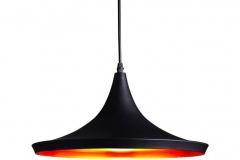 Đèn thả trang trí chao nhôm sơn tĩnh điện TH075-B