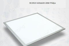 Đèn led panel 28W 600x600 RC092V Philips