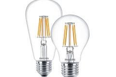 Đèn led bulb 4.3W E27 230V 470Lm ST64,A60 Filament
