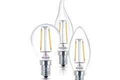 Đèn led bulb 2.3W E14 230V 250Lm BA35,B35,P45 Filament