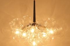 Đèn chùm thả thủy tinh 18 bóng TL-D700-W220