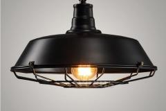 Đèn thả vintages chao rọ sắt trang trí bàn ăn D360 TL-CF074