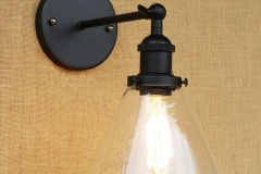 Đèn tường chao loa thủy tinh T0044_1D