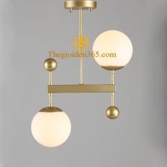 Đèn thả trang trí Nordic chao thủy tinh mờ D150 TL-PA1729-G2