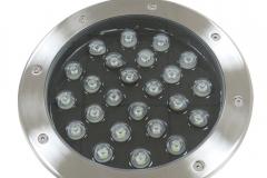Đèn LED Âm Đất Tròn GS Công Suất 24W GSDT24