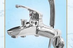Sen tắm nóng lạnh dây bát mạ cao cấp S668 Olympic