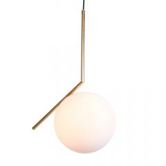 Đèn thả trang trí Nordic chao thủy tinh mờ D200 TL-PK210-B1