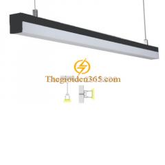 Đèn thả Hanging hiện đại 36w vỏ đen D65 TL-DOS20-6578B