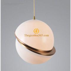 Đèn thả nghệ thuật Nordic chao thủy tinh mờ D250 TL-PK389