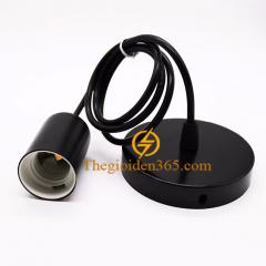 Bộ dây đui đèn thả trang trí E27 chiếu sáng nội thất TL-E27B