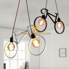 Đèn thả xe đạp trang trí nghệ thuật D680 TL-CF181