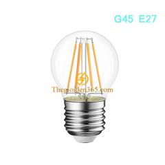 Bóng led bulb trang trí G45 Filament Edison E27 4w TL-Bulb04-G45