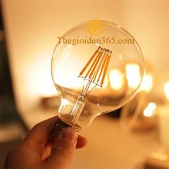 Bóng led bulb trang trí G80 Filament Edison E27 4w TL-Bulb04-G80